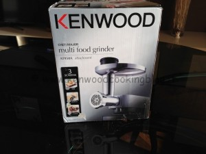 video tritacarne at950a per kenwood cooking chef