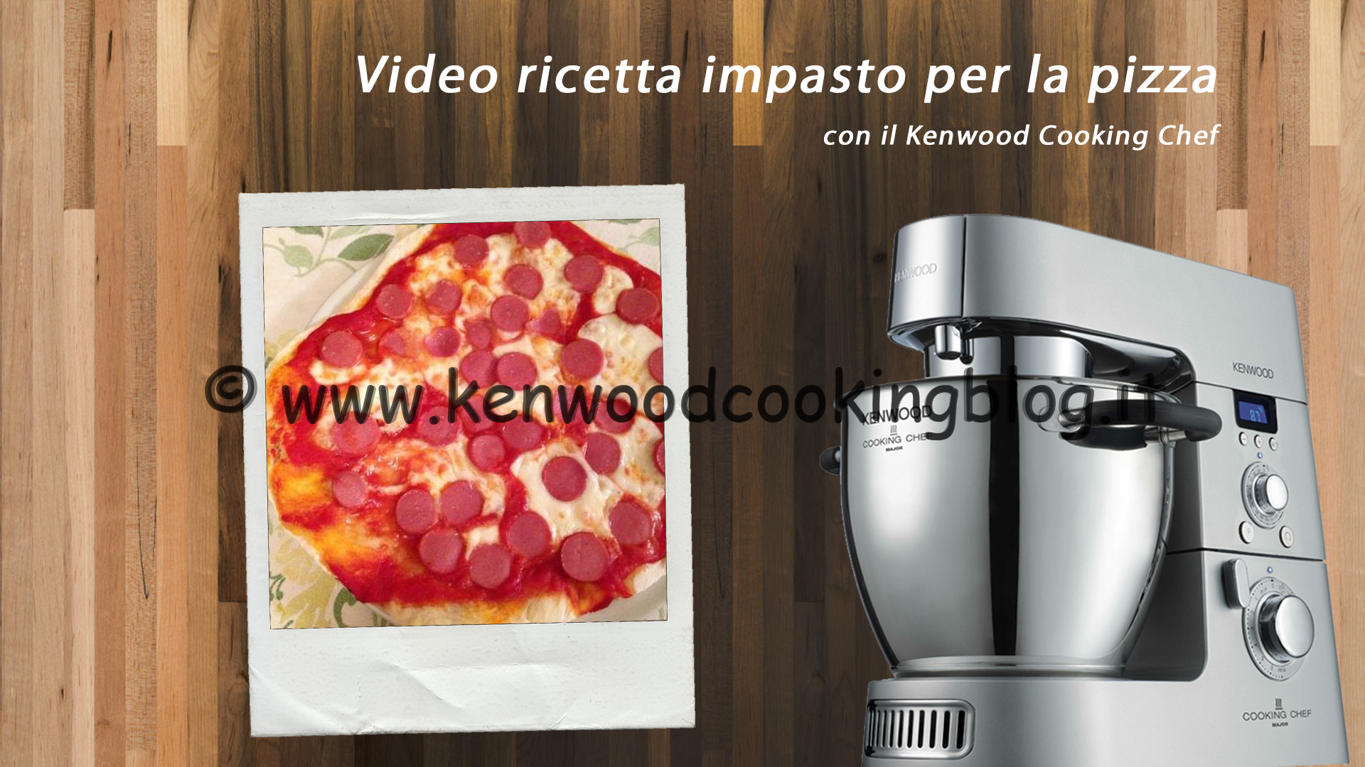 Video ricetta Impasto per la Pizza perfetto con il Kenwood CC ...